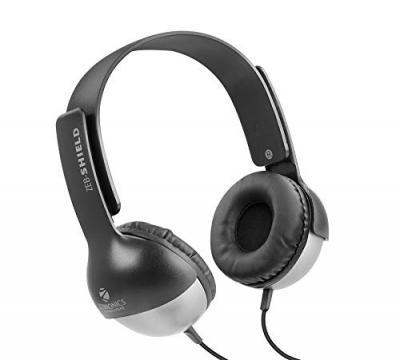 Zebronics Zeb- Shield 3.5mm Jack Headphone with Adjustable Headband (Black)