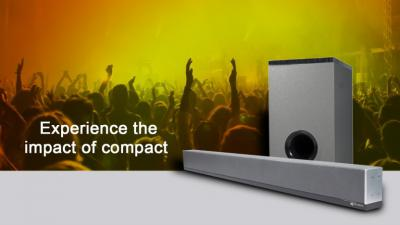 Micromax SB90M 80 W Bluetooth Soundbar  (Grey, 2.1 Channel)