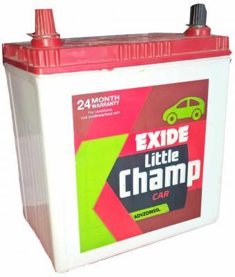 EXIDE FEA0-ADVZDIN55L 55 Ah Battery for Bike
