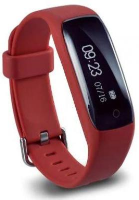Lenovo HW01 Smart Band with Heart Rate Monitor (Red)