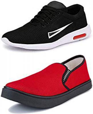 Bersache Men's Multicolor Combo Shoes at Rs.399