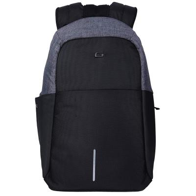 Gear Startup Anti Theft 27 Ltrs Grey Laptop Backpack (LBPSPATEF0401)