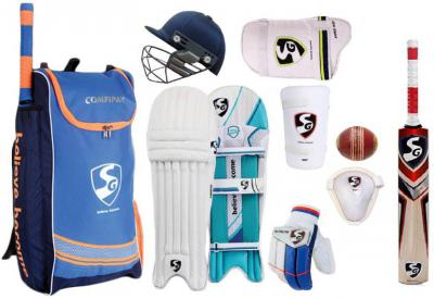 SG Comfipak Complete FULL SIZE Cricket Kit