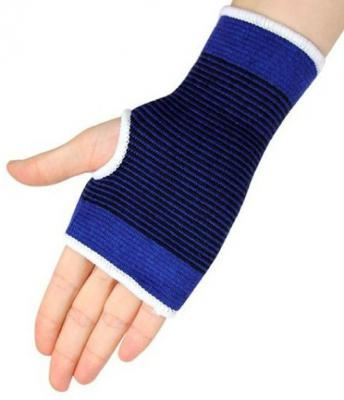 Fitness Solutions Hand and Wrist glove Support For Gym. 1 pair Palm Support