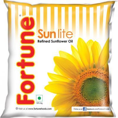 [Supermart] Fortune Sunlite Refined Sunflower Oil Pouch  (500 ml)