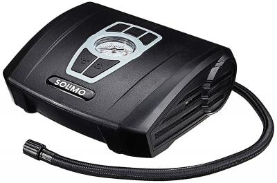 AmazonBrand - Solimo Portable Analog Tyre Inflator (Black)