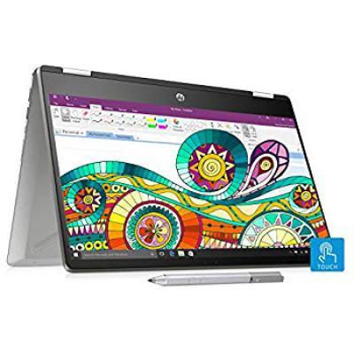 HP Pavilion x360 14-dh0047TU 2019 14-inch Touchscreen Laptop (8th Gen Core i3-8145U/4GB/1TB+256GB SSD/Windows 10 Home/In