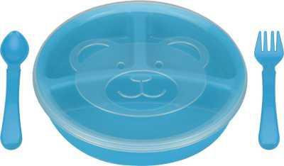 Miss & Chief Baby Feeding Set & Tiffin Box - Polypropylene  (Blue)