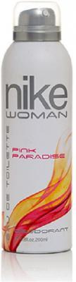 Nike Pink Paradise Deodorant Spray - For Women  (200 ml)