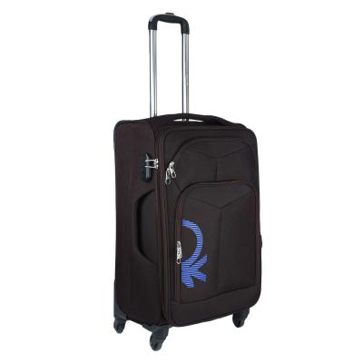 United Colors of Benetton Polyester 68 cms Coffee Softsided Check-in Luggage (0IP6SPO24T03I)