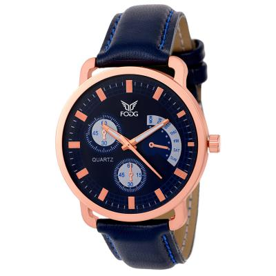 Fogg Analog Blue Chrono Dummy Men's Watch