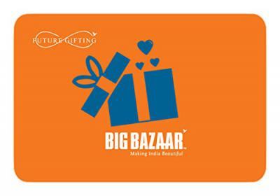 Big Bazaar Rs.1000 Gift Card