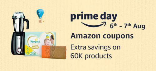 Amazon Coupon: Maximise Saving on Prime Days Sale