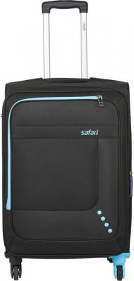 Safari STAR 65 4W BLACK Expandable  Check-in Luggage - 26 inch BLACK
