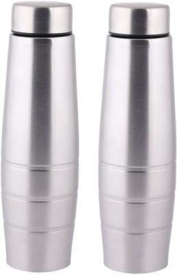 Steel Curvy 1000 ml Bottle