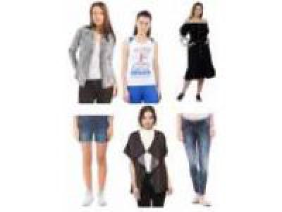 50%off on U.S. Polo Assn Women's Clothing Starts from Rs. 193