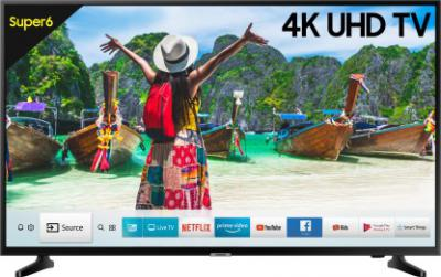 Samsung NU6100 138cm (55 inch) Ultra HD (4K) LED Smart TV  (UA55NU6100KXXL / UA55NU6100KLXL)