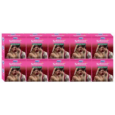 Durex Kohinoor Condoms - 3 Count (Pack of 10, Meetha Pan)