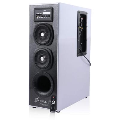 Obage MT-525 Single Multimedia Tower Speaker with Bluetooth,USB,AUX