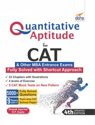 Quantitative Aptitude for CAT &other MBA Entrance Exams 4th Edition