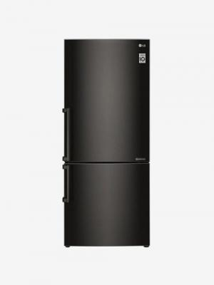 LG GC-B519EXQZ 450 L Inverter 3 Star Frost Free Double Door Refrigerator (Black Steel)