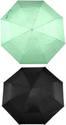 Bizarro Plain Combo-3-Fold (Set of 2) A Umbrella  (Green, Black)