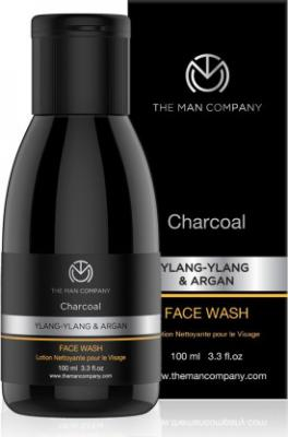 The Man Company Charcoal Face Wash for Blackheads, dark Spots & Deep Cleansing Face Wash  (100 ml)