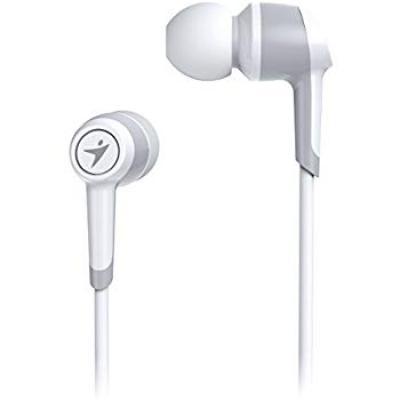 Genius HS-M225 in-Ear Headphones with Mic (White)