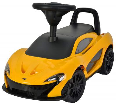 Toy House Officially Licensed McLaren P1 Push Car, Yellow