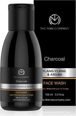 The Man Company Charcoal Face Wash for Blackheads, dark Spots & Deep Cleansing Face Wash