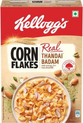 Kellogg's Real Thandai Badam Corn Flakes  (280 g, Box)