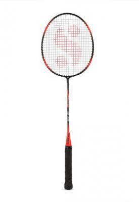 Silver B220 Multicolor Strung Badminton Racquet