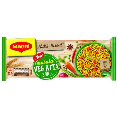 Maggi Nutri-licious Atta Noodles, Masala, 290g