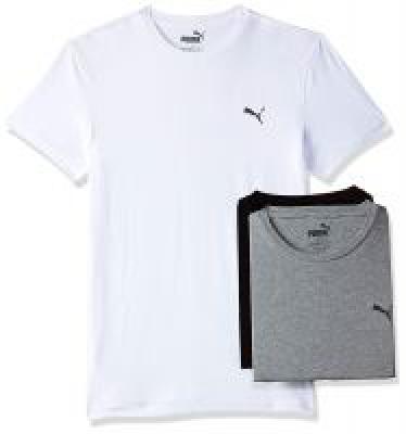 Puma Men&Plain Vest (Pack of 3)