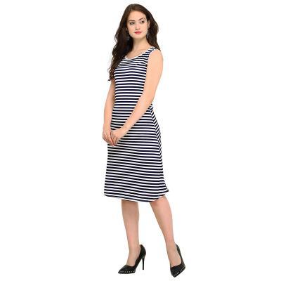 Women A-Line Knee-Long Dress
