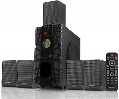 Zebronics BT6590RUCF 5.1 Channel Multimedia Speaker with Bluetooth & Remote