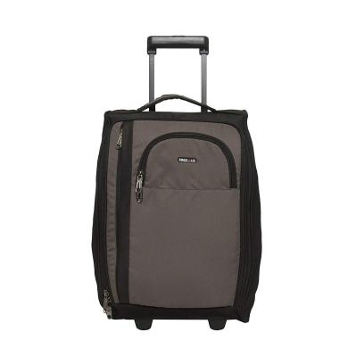 BagsRUs Polyester 21.005800000000001 cms Grey Softsided Cabin Luggage (CA111FGR)