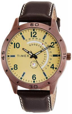 Timex Analog Beige Dial Men's Watch - TW000U930
