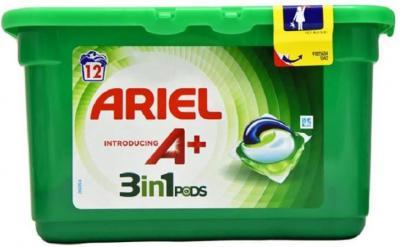 Ariel A+ 3 In 1 Pods 12&Regular Detergent Pod (12 Pods)