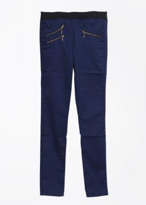 Lee Skinny Fit Women Dark Blue Trousers