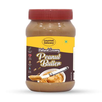 Gourmet Delicacy All Natural Creamy Peanut Butter 1 kg