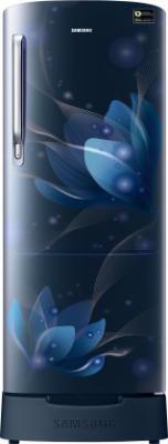 Samsung 192 L Direct Cool Single Door 4 Star (2020) Refrigerator  (Saffron Blue, RR20T182XU8/HL)