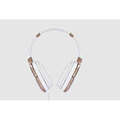Zebronics Zeb-Elegance 3.5mm Jack Headphone with Adjustable Headband (White)