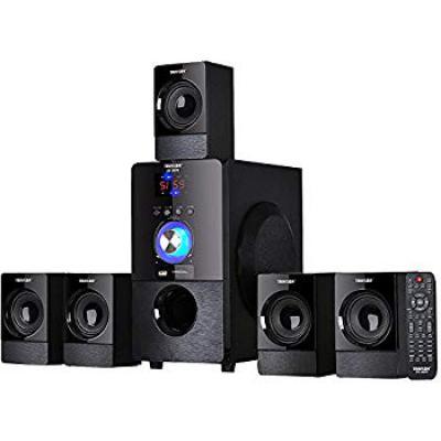 Truvison SE-5075BT 5.1 Multimedia Home Theatre Speaker System (Black)