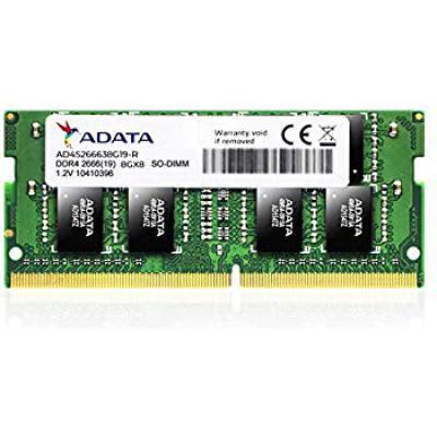 ADATA Premier 8GB DDR4 2666Mhz SO-DIMM Memory Module for Laptop