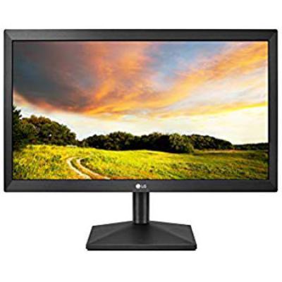LG 20 inch HD Ready Monitor - VGA Port, Wall Mount - 20MK400A (Black)