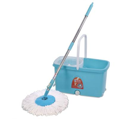 Top Branded Spin mop with easy wheels and bucket for magic 360 degree cleaning