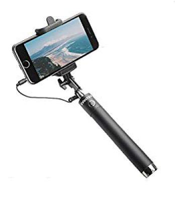 iVoltaa Next Gen Compact Wired Selfie Stick
