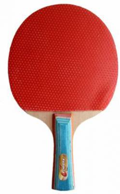 JXN Table-Tennis Half Cover Raquet Red Table Tennis Racquet