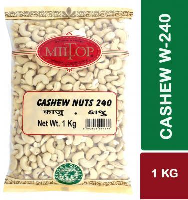 Miltop Cashew Nuts w240, 1 kg